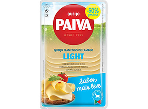 QUEIJO PAIVA FLAMENGO LIGHT FATIAS 180G image number 0