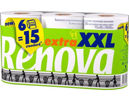 PAPEL HIGIÉNICO RENOVA EXTRA XXL 6R=15R image number 0