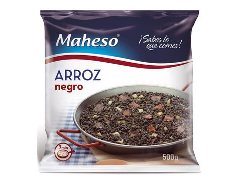 ARROZ NEGRO MAHESO 500G image number 0