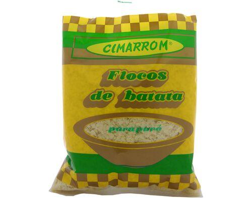 FLOCOS DE BATATA CIMARROM 400 G image number 0