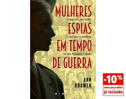 LIVRO MULHERES ESPIAS EM TEMPO - DE GUERRA image number 0