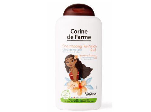 CHAMPÔ CORINE DE FARME 2 EM 1 VAIANA NUTRITIVO 250ML image number 0