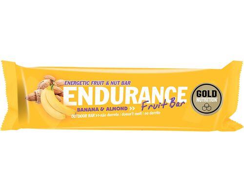 BARRA GOLDNUTRITION ENDURANCE AMENDOA BANANA 40G image number 0