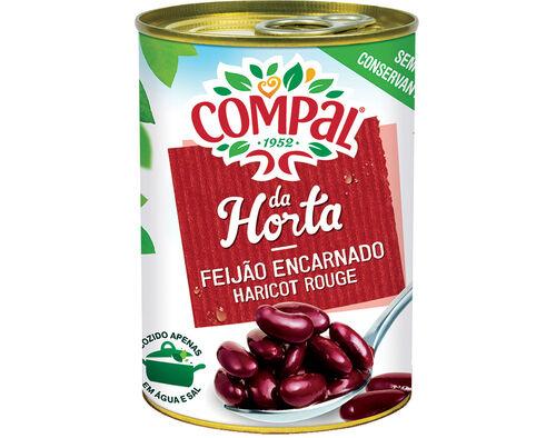 FEIJAO ENCARNADO COMPAL DA HORTA 410 G image number 0