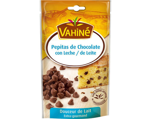 PEPITAS VAHINÉ CHOCOLATE DE LEITE 100 G image number 0