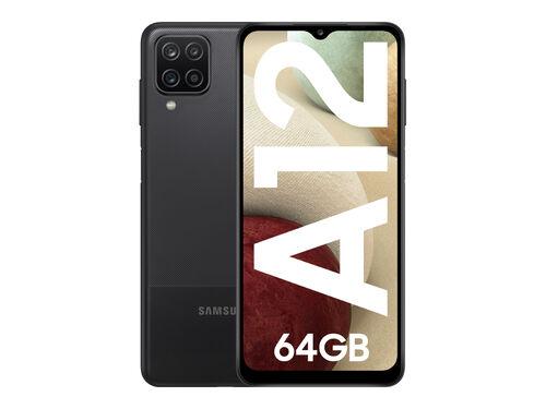 SMARTPHONE SAMSUNG GALAXY A12 4GB 64GB PRETO image number 0