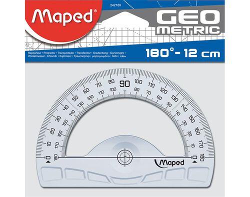 TRANSFERIDOR GEOMETRIC MAPED 180/12CM image number 0