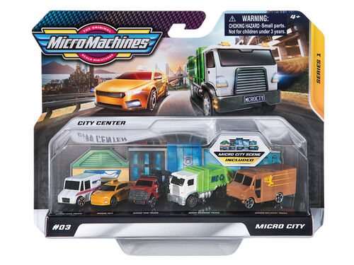 VEICULOS MICRO MACHINES MULTIPACK PACK 5 image number 0