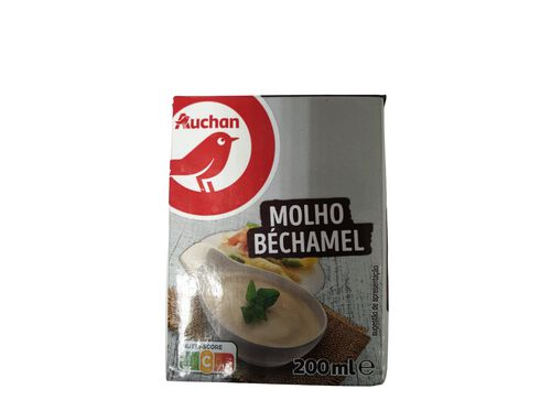 MOLHO BÉCHAMEL AUCHAN 200ML image number 0