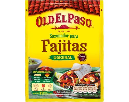 CONDIMENTOS OLD EL PASO PARA FAJITAS 30G image number 0
