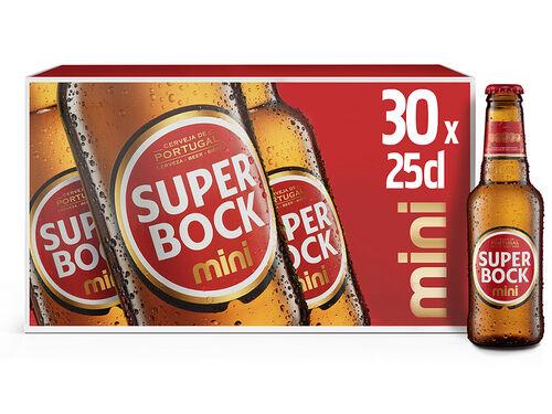 CERVEJA SUPER BOCK MINI 30X0.25L image number 0