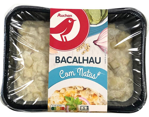 BACALHAU COM NATAS AUCHAN 250G image number 0