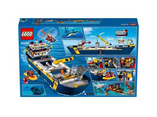 BARCO DE EXPLORAÇÃO LEGO CITY DO OCEANO image number 5