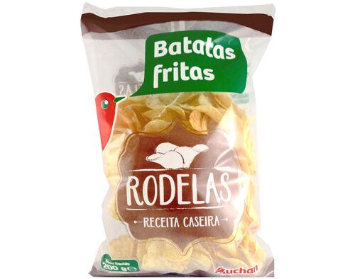 BATATAS FRITAS AUCHAN RODELAS 200G image number 0