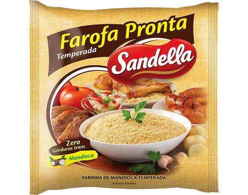 FAROFA PRONTA SANDELLA TEMPERADA 400G image number 0