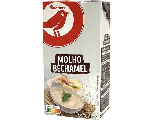 MOLHO BÉCHAMEL AUCHAN 500ML image number 0