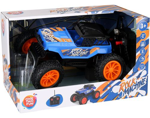VEICULO R/C ONE TWO FUN ROCK MACHINE 22CM image number 0