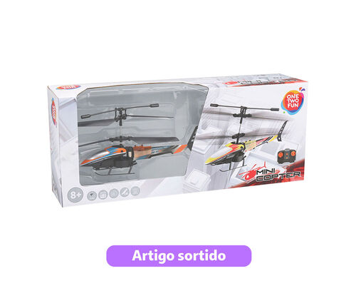 MINI COPTER R/C ONE TWO FUN 16CM image number 0