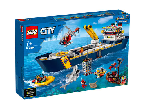 BARCO DE EXPLORAÇÃO LEGO CITY DO OCEANO image number 0