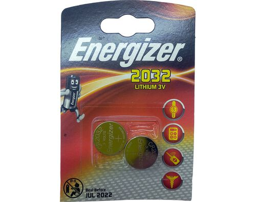 PILHA LITIO ENERGIZER CR 2032 BL 2 image number 0