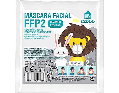 MÁSCARA PROTEÇÃO BIGHOME RESPIRATÓRIA FFP2 INF 2UN image number 0