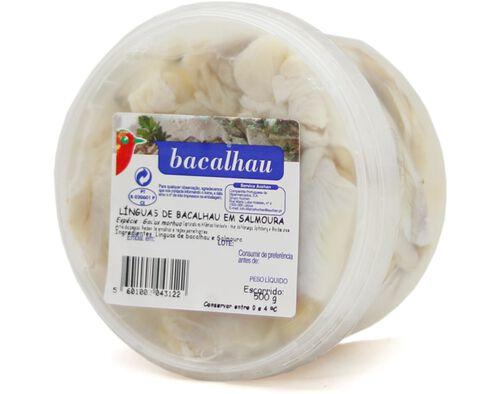 BACALHAU AUCHAN LINGUAS 500G image number 0