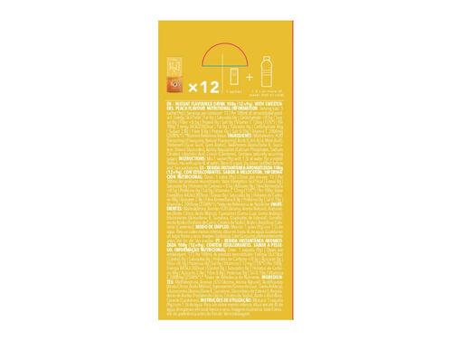BEBIDA INSTANTÂNEA H2O PROZIS PÊSSEGO (12X9G) 108G image number 1