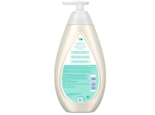 GEL BANHO JOHNSON'S BABY COTTON TOUCH 500 ML image number 1