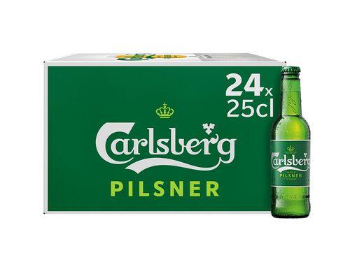 CERVEJA CARLSBERG 24X0.25L image number 0