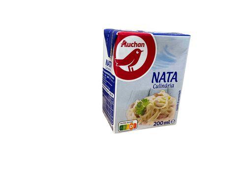 NATA AUCHAN UHT CULINÁRIA 200ML image number 0