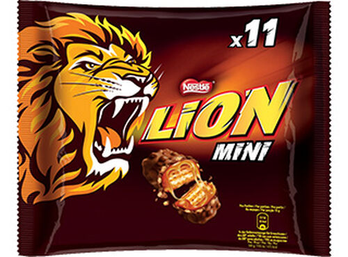 CHOCOLATE LION SNACK MINI 198G image number 0