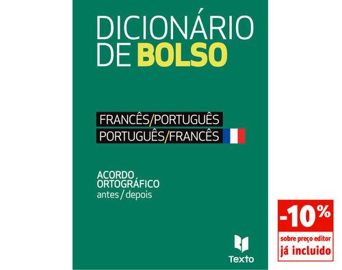 DICIONARIO BOLSO TEXTO FRANCES-PORTUG/PORTUG-FRANCES image number 0