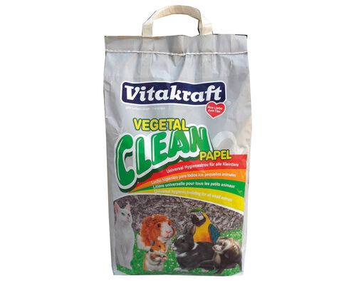 ABSORVENTE UNIV. VITAKRAFT VEGETAL CLEAN PAPEL 10LT image number 0