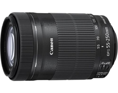 OBJECTIVA CANON EF-S 55-250 IS STM 8546B005AA image number 0