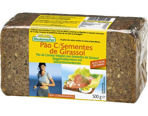 PAO MESTEMACHER C/SEMENTES GIRASSOL 500 G image number 0
