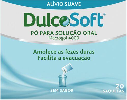 SUPLEMENTO DULCOSOFT MACROGOL 4000 20 SAQUETAS image number 0
