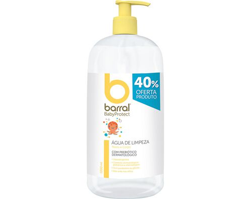 AGUA LIMPEZA BARRAL BABYPROTECT 1L 40% DESC INCL image number 0