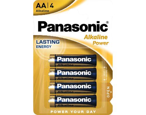 PILHA ALCALINA POWER PANASONIC BL/4 LR6 image number 0