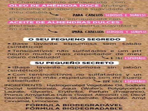 CHAMPÔ CORINE DE FARME CABELOS NORMAIS SÓLIDO 75G image number 1