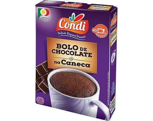 BOLO CONDI NA CANECA COM SABOR A CHOCOLATE 70G image number 0