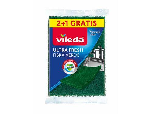 ESFREGÕES VILEDA FIBRA VERDE ULTRAFRESH 2+1 image number 0