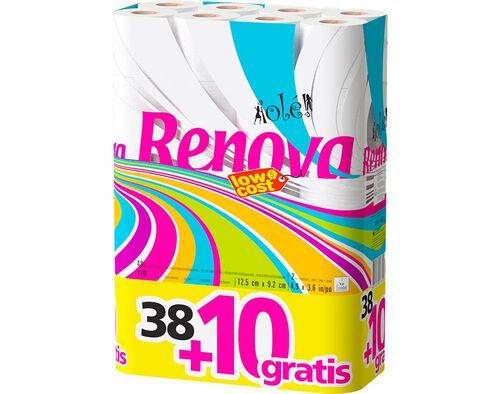 PAPEL RENOVA HIGIÉNICO OLÉ 38 ROLOS +10 ROLOS image number 0
