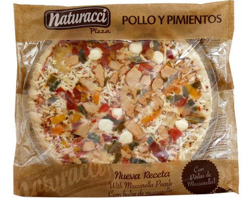 PIZZA NATURACCI REFRIGERADA POLLO Y PIMENTOS 480G image number 0