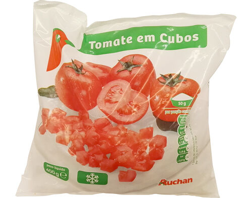 TOMATE AUCHAN CUBOS 400G image number 0