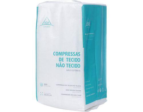 COMPRESSA ADA TNT NÃO ESTERILIZA 10X10 200UN image number 0