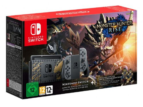 CONSOLA NINTENDO SWITCH M.H.R. EDITION image number 0