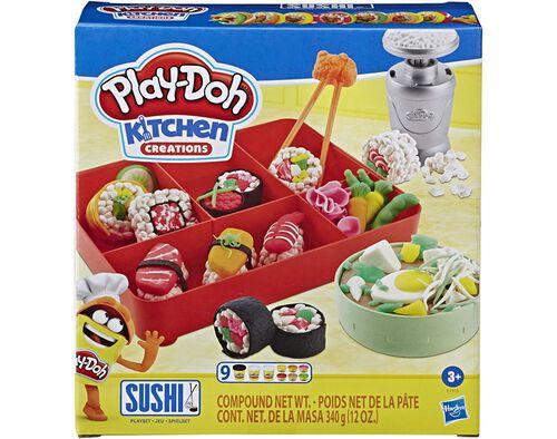 MODELAGEM PLAY-DOH SUSHI PLAYSET image number 0