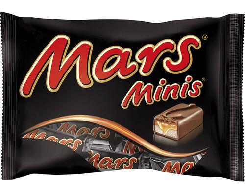 BARRAS MARS DE CHOCOLATE MINI BAG 170G image number 0