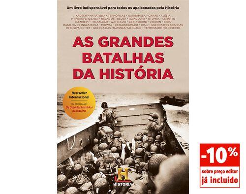 LIVRO AS GRANDES BATALHAS DA HISTORIA - CANAL DA HISTORIA image number 0