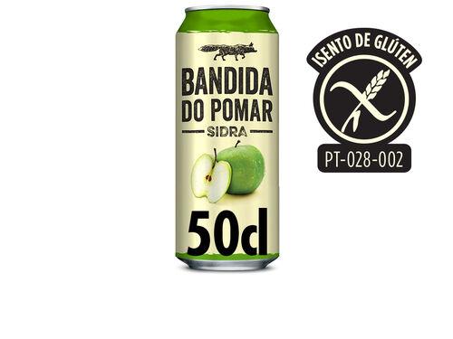 SIDRA BANDIDA DO POMAR MAÇÃS ÁCIDAS LATA 0.50L image number 0